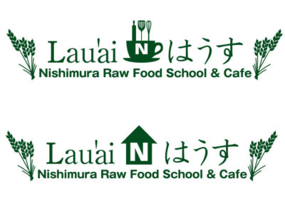 家族の健康を想いオープンするローフードカフェ&スクールスペースのロゴ